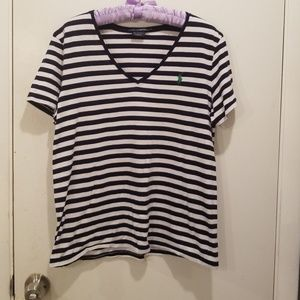 Ralph Lauren Swoop Neck Tee